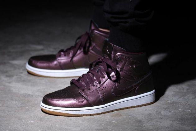 Nike Air Jordan 1 Mi Nouveau Bordeaux