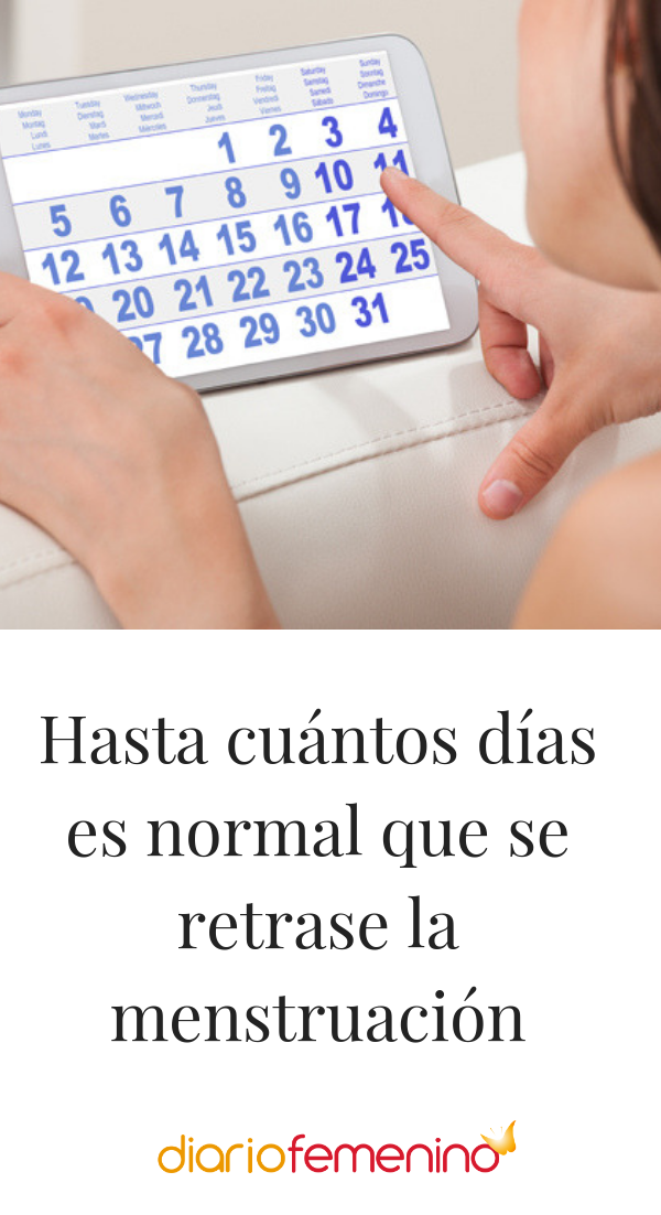 Es normal un retraso de 4 dias