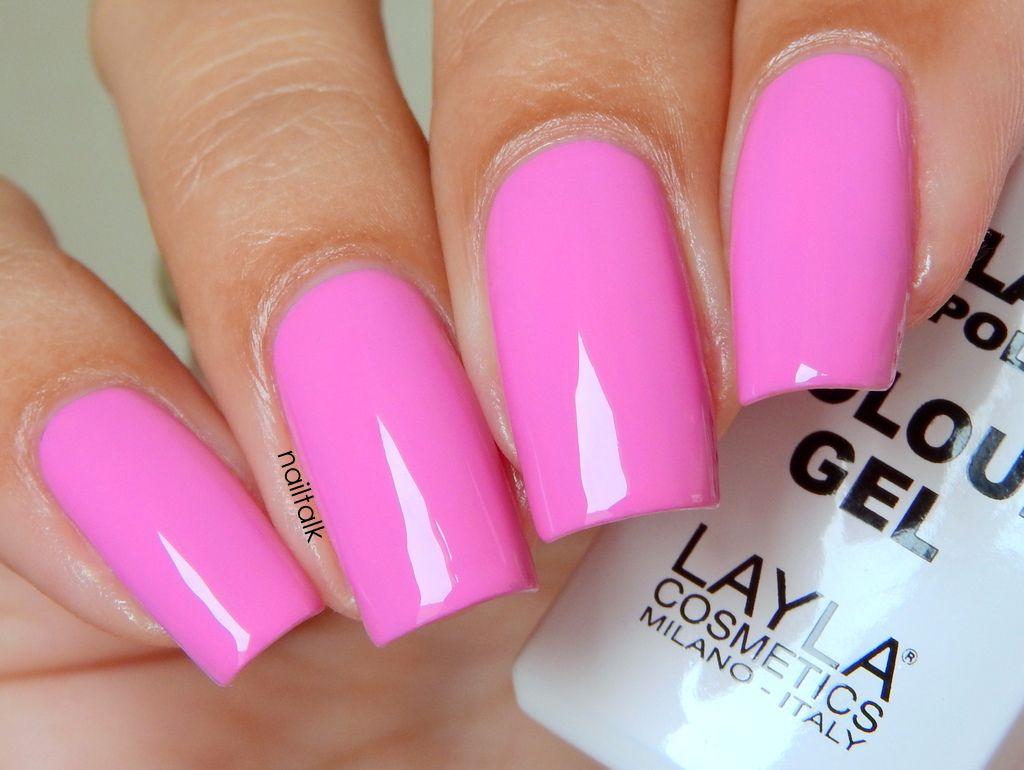 Layla No Lamp Gel Polish 09 Live Red | Nail polish | Pinterest