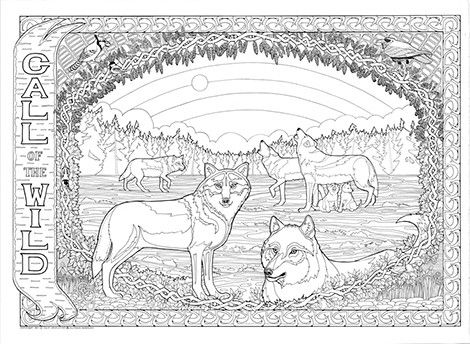Download Or Print This Amazing Coloring Page Where The Wild