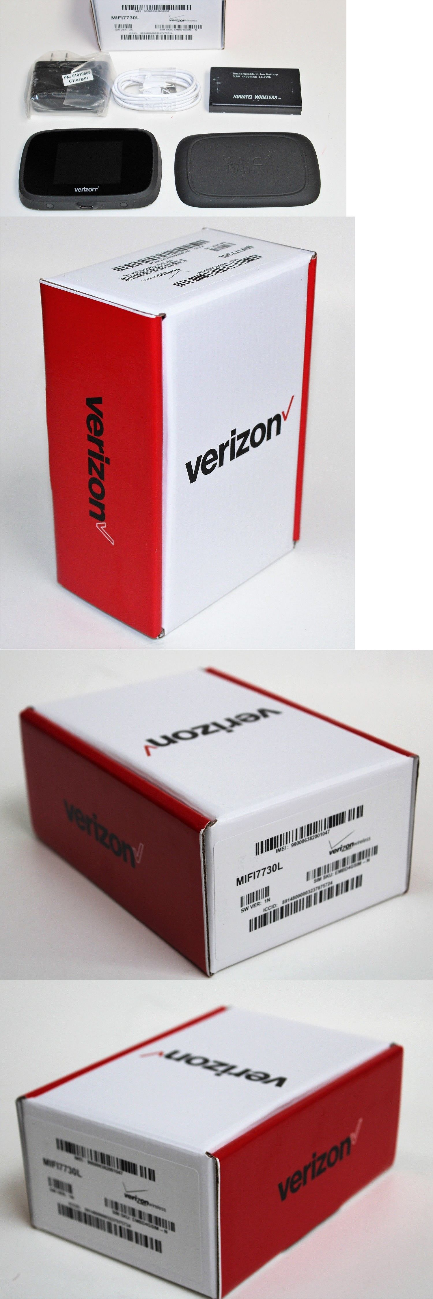 Mobile Broadband Devices 175710: Verizon Mifi 7730L Jetpack 4G Lte