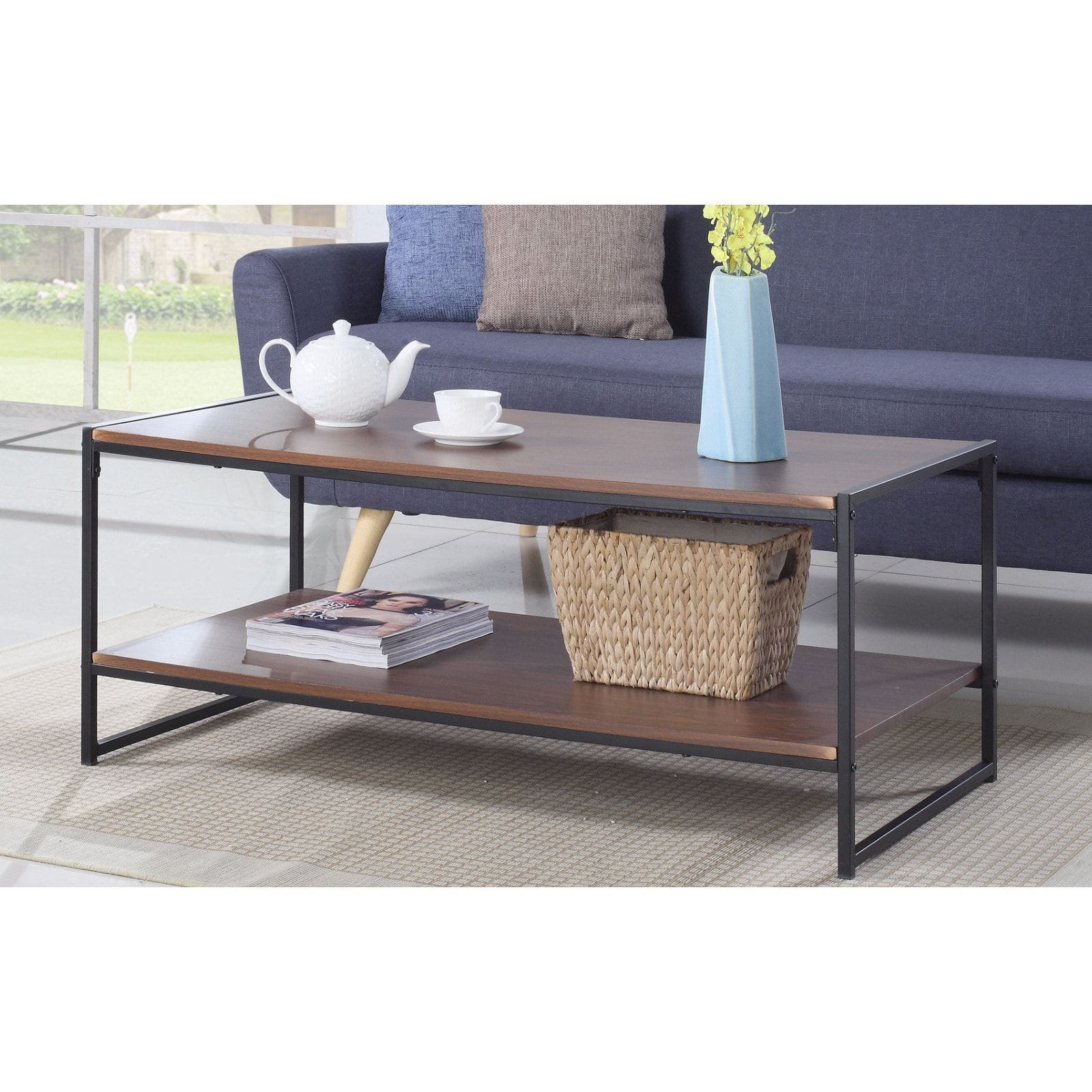 Delightful Cubicle Modern Coffee Table | Overstock.com Shopping   The Best Deals On  Coffee,