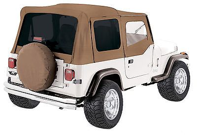 New Spice 1988 1995 Jeep Wrangler Yj Replacement Soft Top Upper Skins Yj Wrangler Jeep Jeep Wrangler Yj