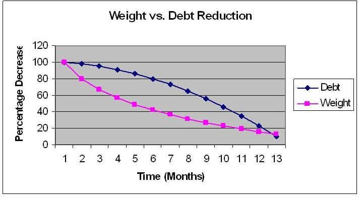 Why is it Taking So Long (Debt reduction - free debt reduction spreadsheet