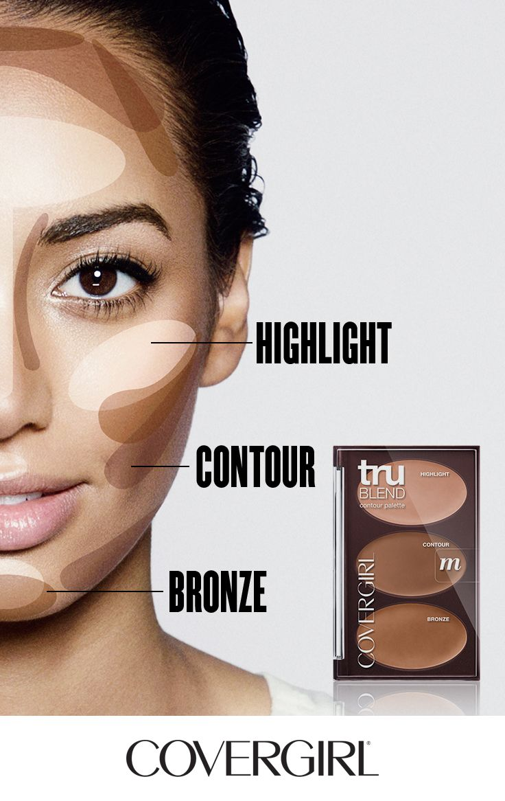 Contour your face in 60 seconds! Follow COVERGIRL'S step-by-step tutorial using our truBLEND Contouring Palette and learn to highlight, contour and bronze ...