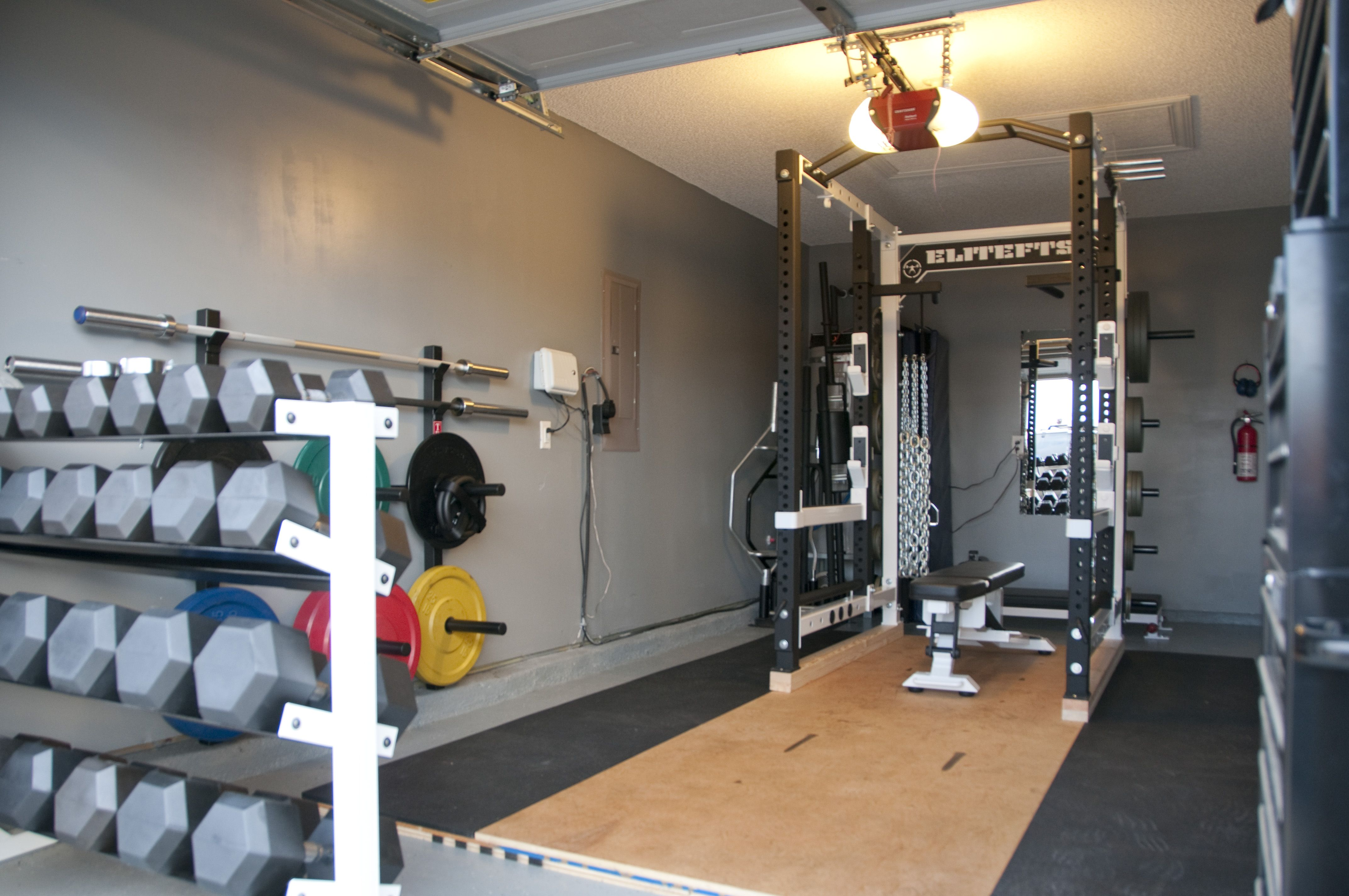 My Home Gym Setup Dumbbells And Squat Rack Check Me Out Fbeed