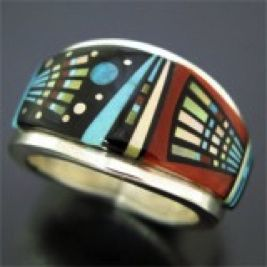 native american wedding bands for men Native American tribes