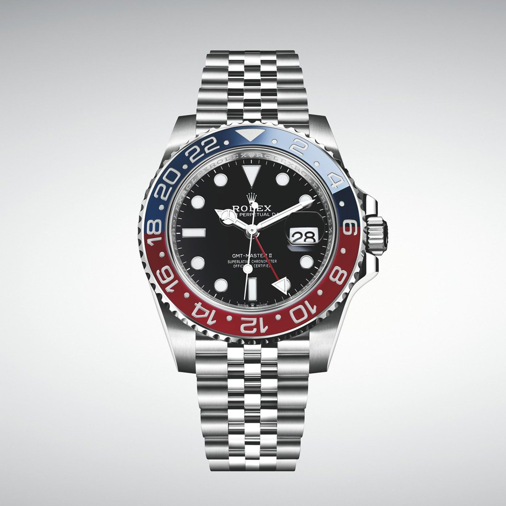 Introducing The Rolex Gmt Master Ii Pepsi In Stainless Steel Ref 126710 Blro Hodinkee Rolex Gmt Rolex Rolex Gmt Master Ii