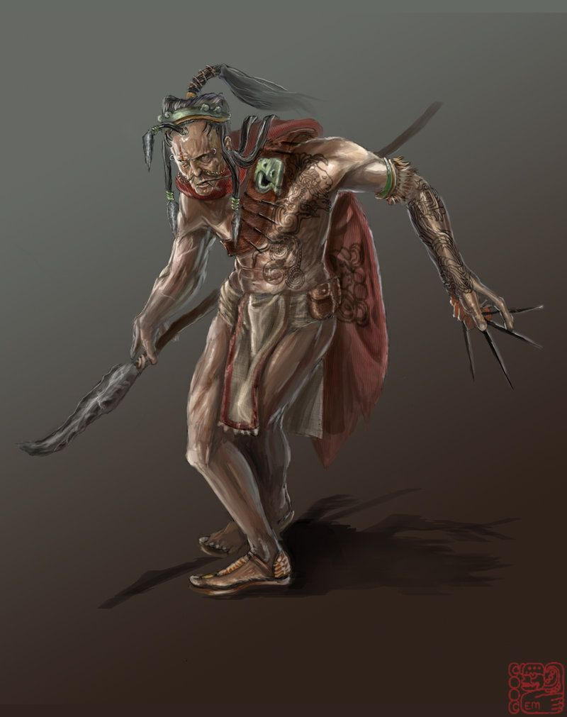 Mayan assasin by emonteon in 2019 Age of mythology, My