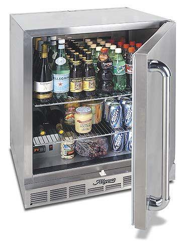 alfresco grill refrigeration at pelican shops outdoor refrigerator compact refrigerator on outdoor kitchen kegerator id=86070