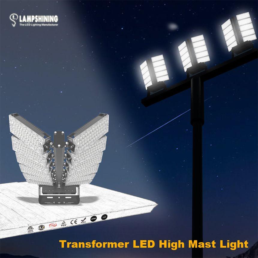 600w Led High Mast Flood Light 160lm W Sports Lighting Led Lights High Power Led Lights Led