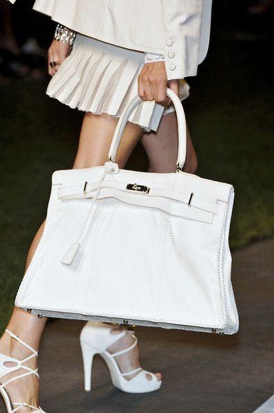 Hermès - Spring 2010 - Paris Fashion Week - details