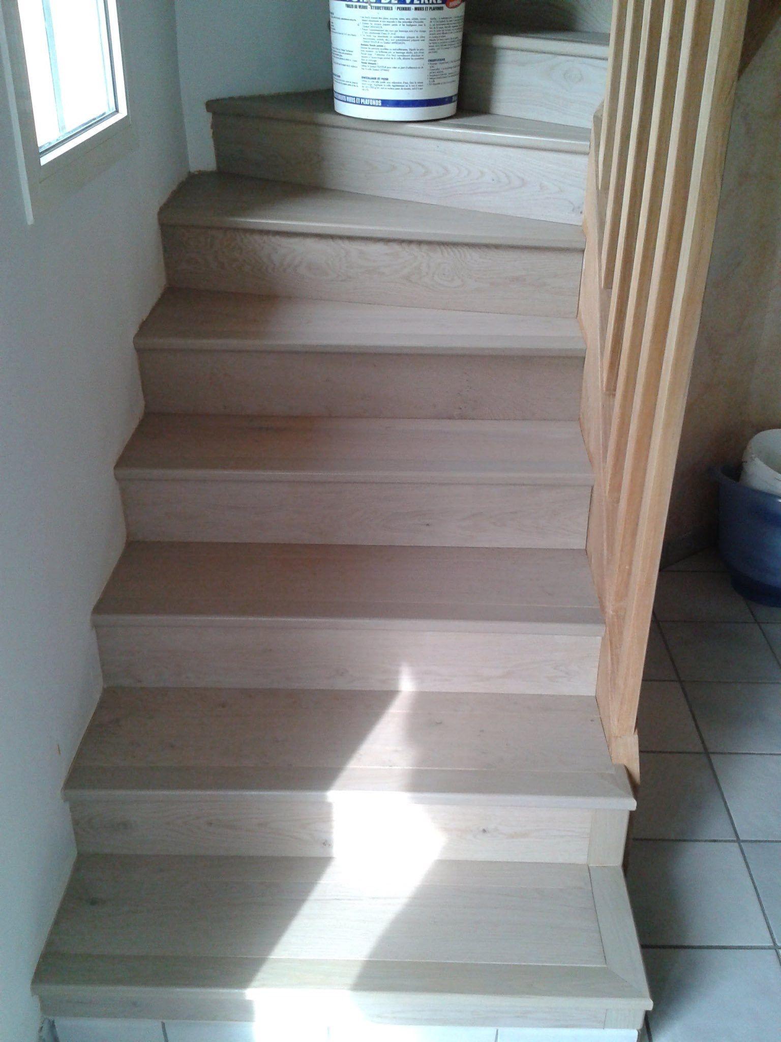 Donnez Un Un Coup De Jeune En Habillant Votre Escalier Avec Un Parquet Contrecolle Cabbani Elite 10 Nez De Marche Parquet Contrecolle Habillage Marche Escalier