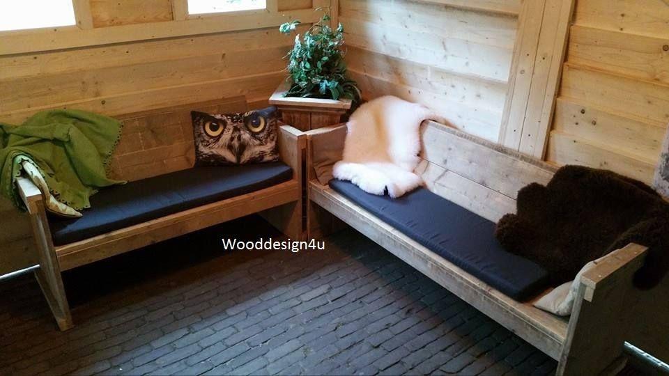 Apres-ski, interieur van skihut op camping geversduin. Realisatie By ...