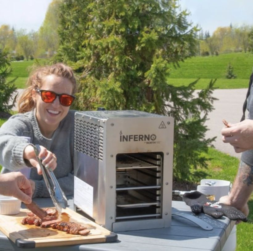Inferno2g Is That An Internet Service The Only Thing We Are Dialing Up Is The Heat With Two Individ Ual Burners At Infrared Grills Grilling Outdoor Cooking