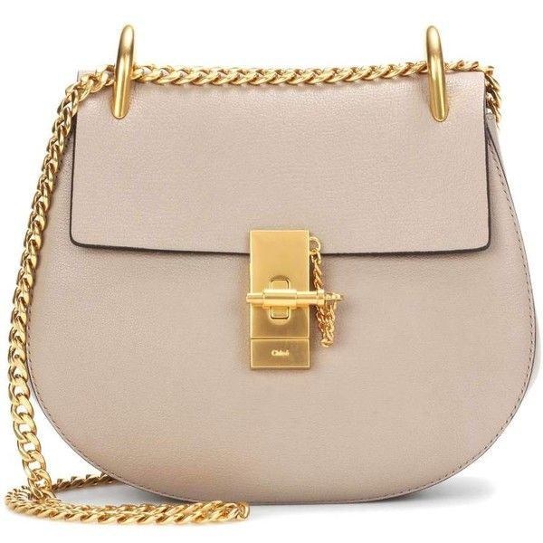 f5003383 Chloé Drew Small Leather Shoulder Bag ($2,165) ❤ liked on Polyvore ...