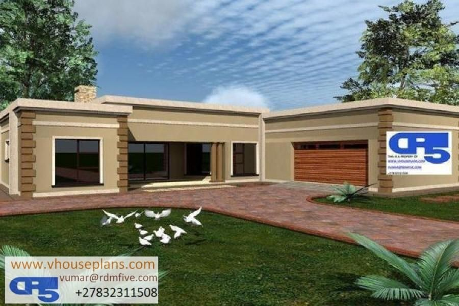 Rdm5 House Plan No W1804 Flat Roof House Beautiful House Plans House Plans