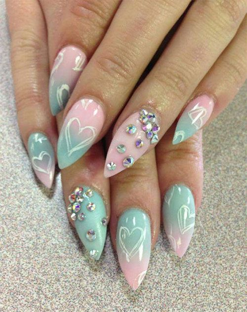 I love applying new and latest nail art patterns because they make ...