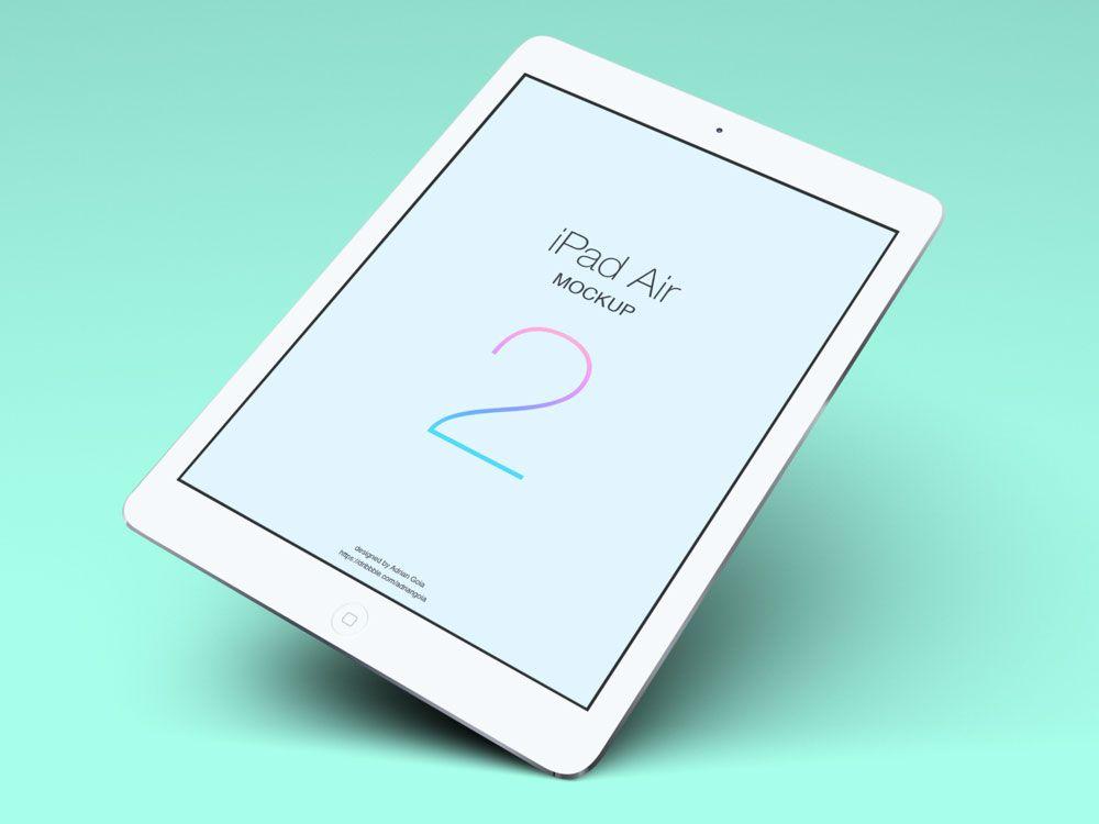 Download Ipad Air Mockup Free Yellowimages