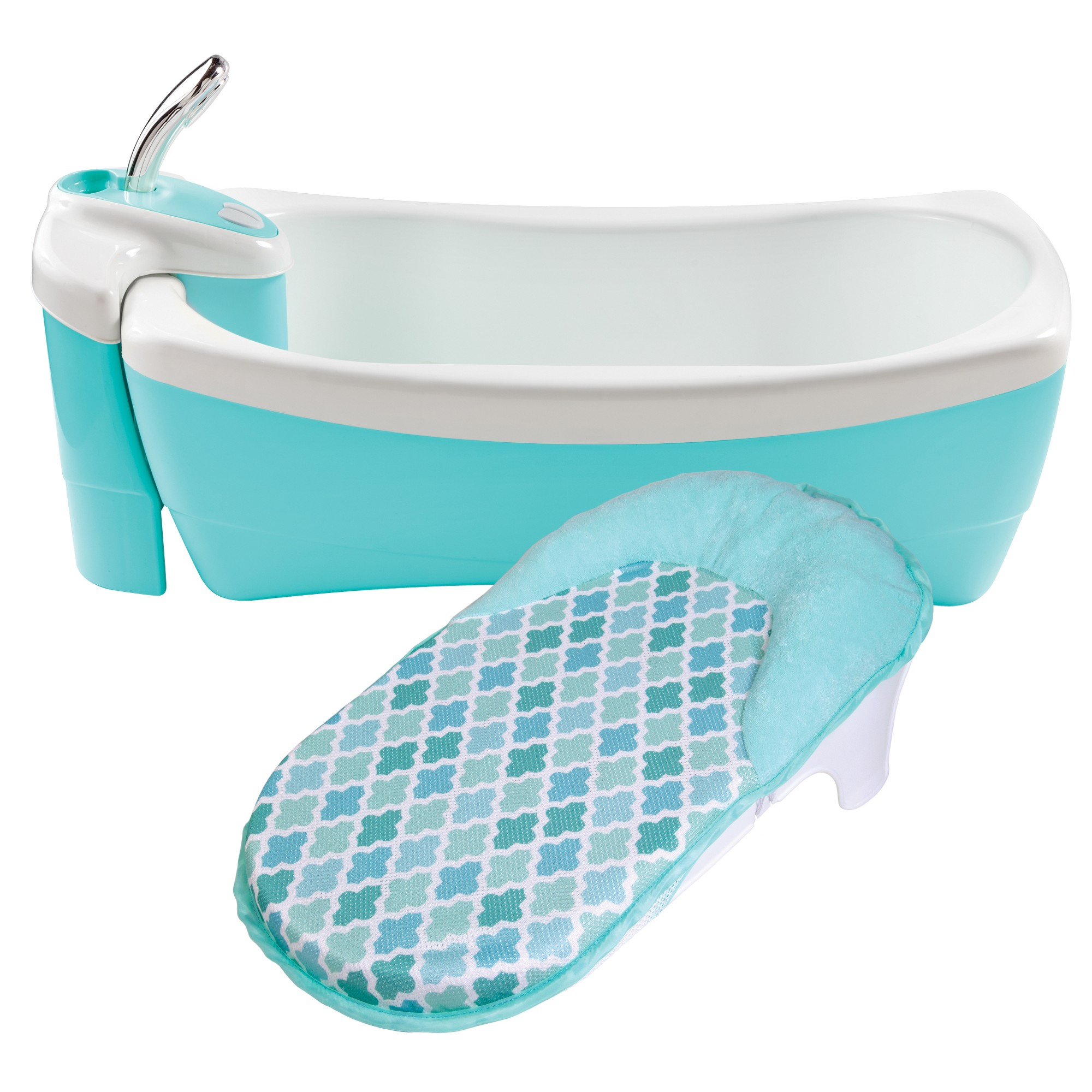 Summer Infant Lil\' Luxuries Whirlpool, Bubbling Spa & Shower (Blue ...