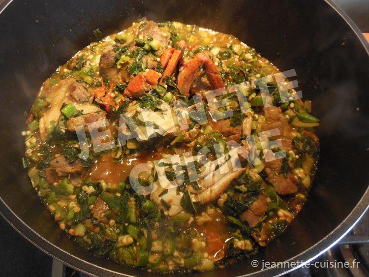 Sauce feuille de patates douces c te d 39 ivoire african food pinterest cuisine africaine - Recette de cuisine cote d ivoire ...