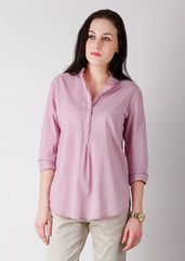 United Colors of Benetton Solid Semi-formal Women's Shirt: Shirt