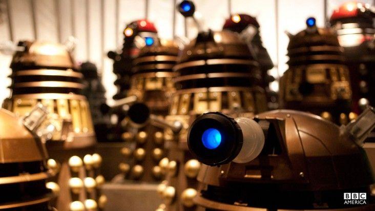 Season 7, Episode 1: Asylum of the Daleks | Photos | Doctor Who | BBC America