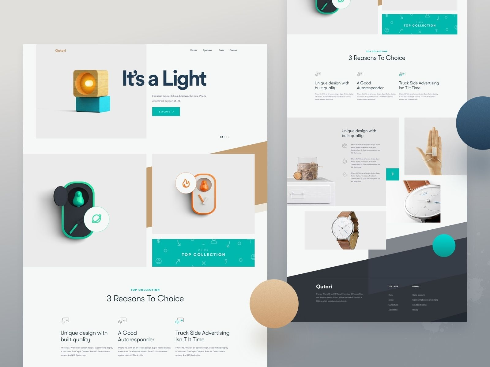 Site Layout Mockups With Sections Separated By Grey Boxes And Header Text That Spans Across More Th Web Design Trends Creative Website Design Web Layout Design
