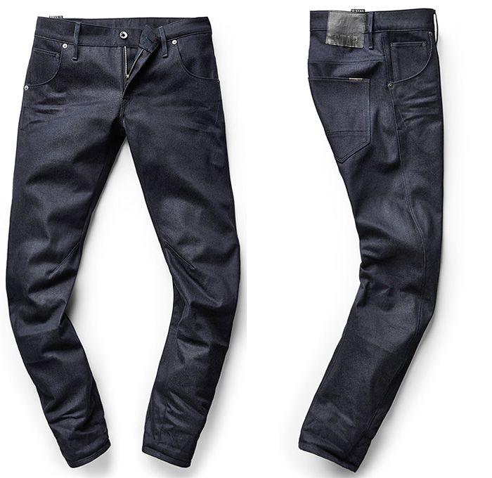 05 arc slim tapered mens denim jeans mazarine indigo. Black Bedroom Furniture Sets. Home Design Ideas