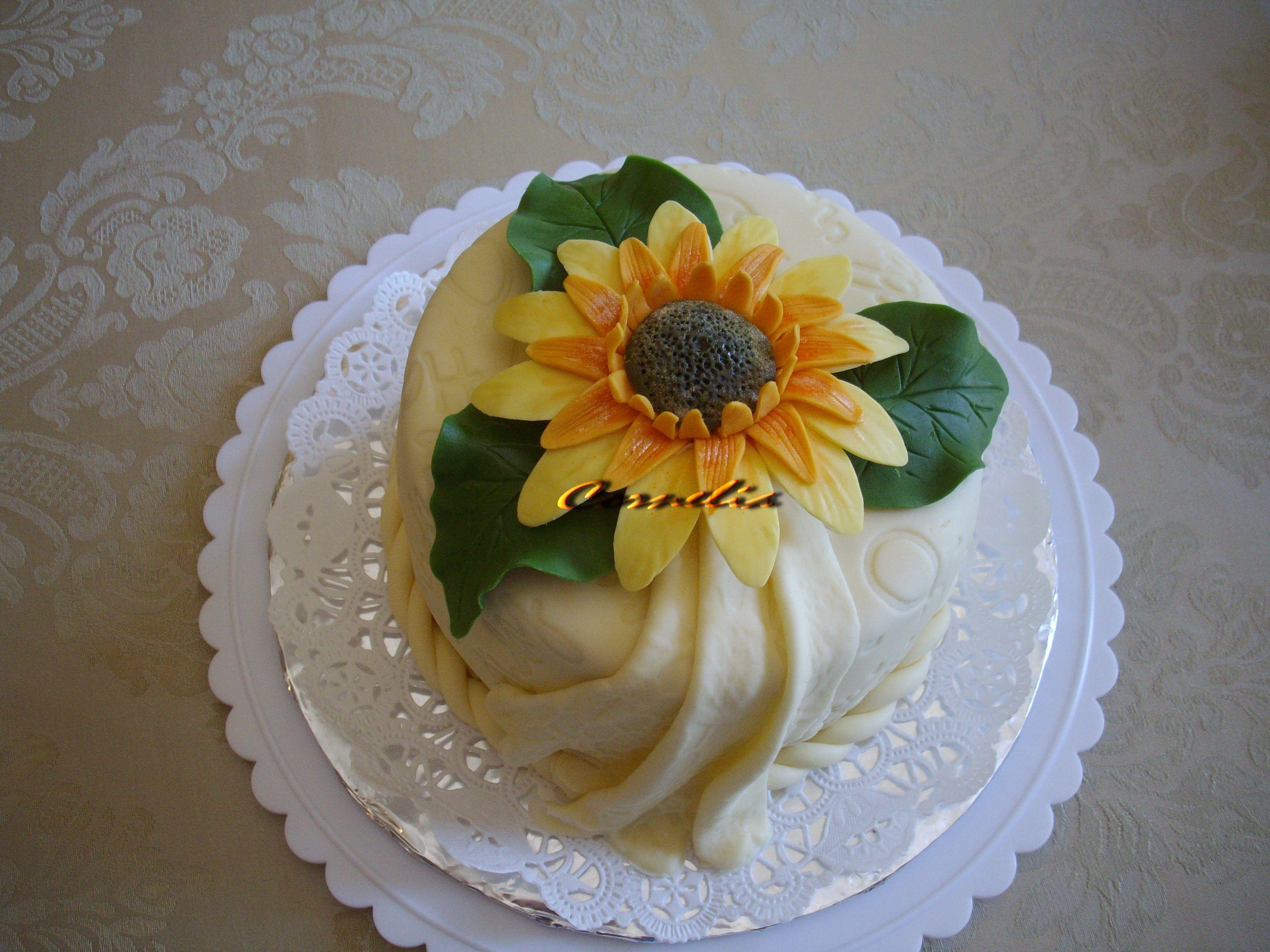Sunflower Sheet Cake Decorating Ideas 117634 | Sunflower Cak