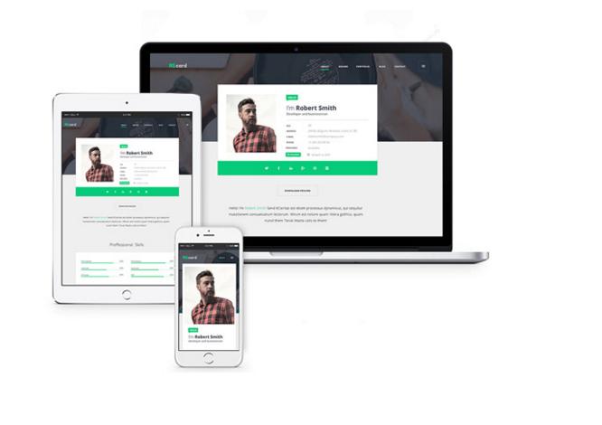 Resume Web Template 25 Free Resume Psd Website Template  25 Free Resume Psd Website