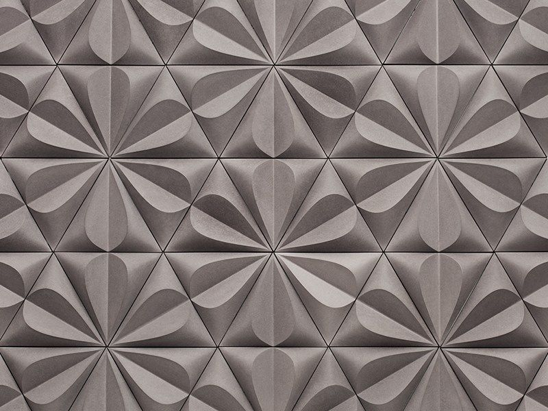 Fiber Cement 3D Wall Tile Seed By Kaza Concrete | Design Gillian