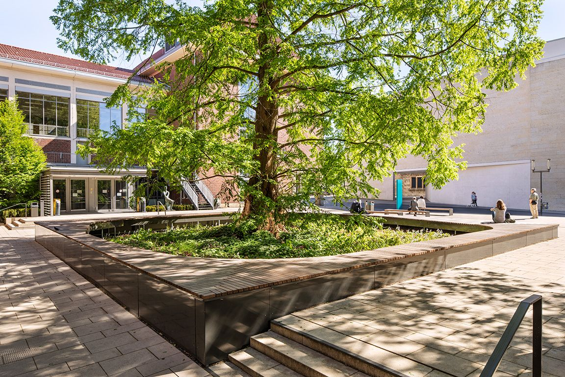Munster Furstenbergplatz Planergruppe Oberhausen Paysage