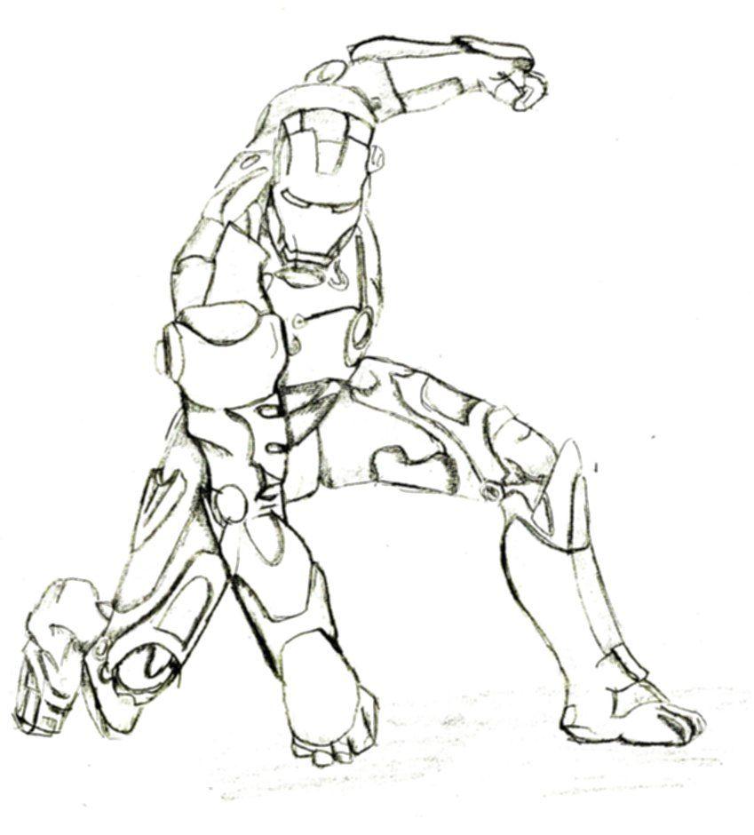 Desenhos para colorir Iron Man para colorir