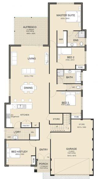 Brighton series first up homes also two storey home builders mandurah  perth art rh pinterest