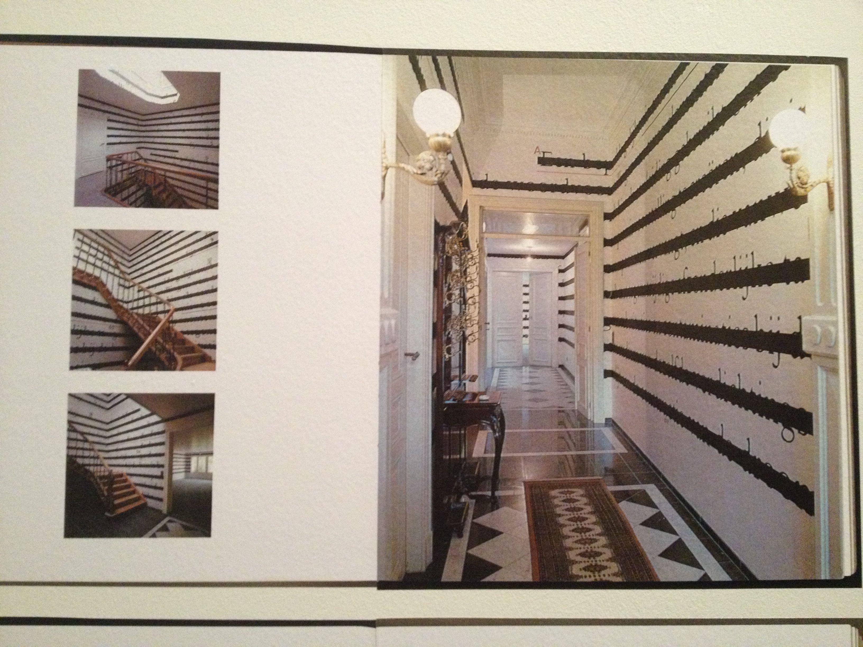 Joseph Kosuth 39 S Wallpaper At A Psychiatrist 39 S House