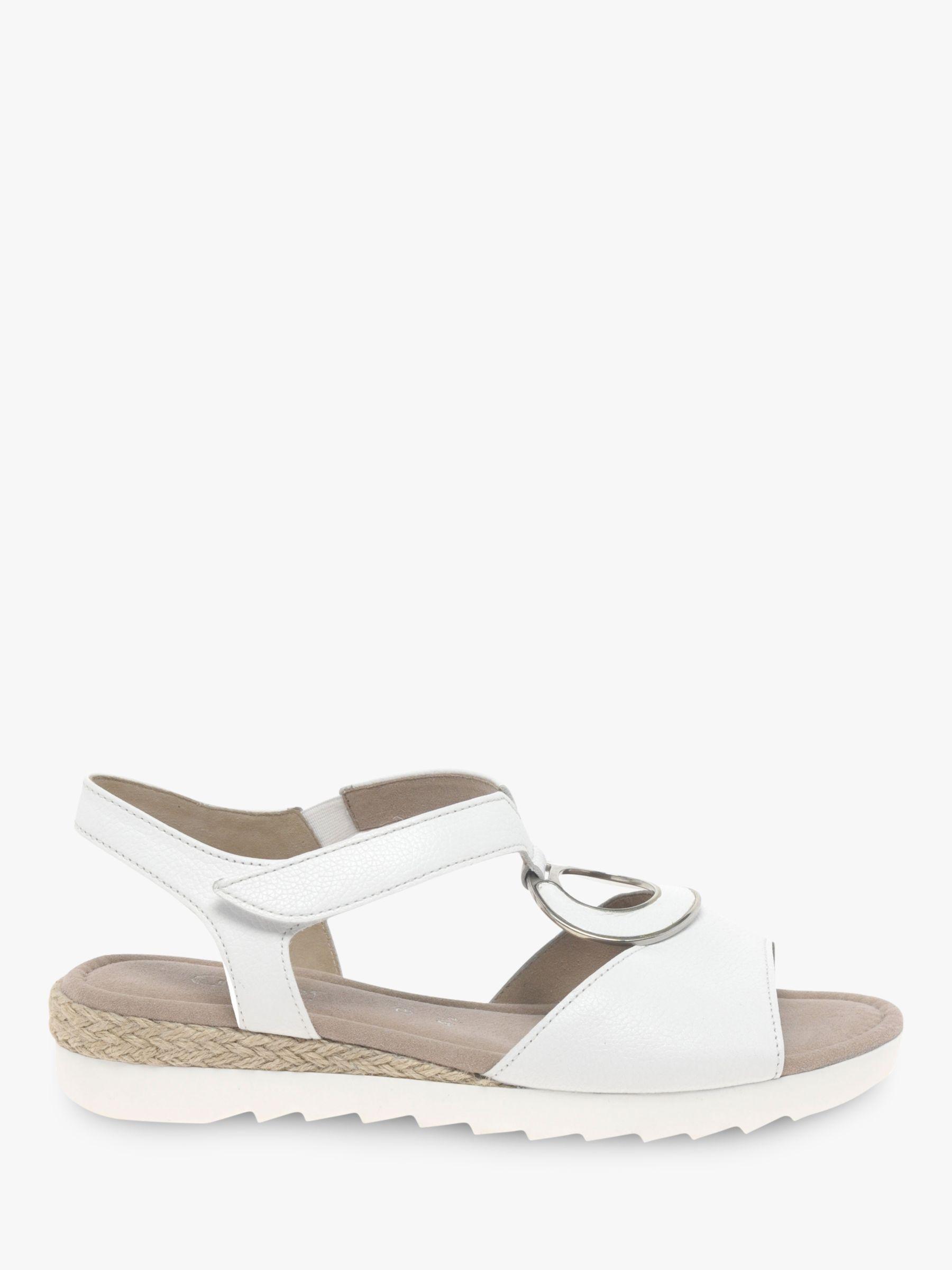 Gabor Ellis Wide Fit Low Wedge Sandals