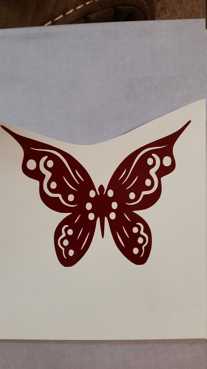 Butterfly Vinyl Decal By LollysGoodies On Etsy Butterflies - Butterfly vinyl decals