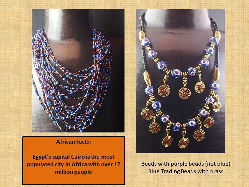 Vibrant necklaces