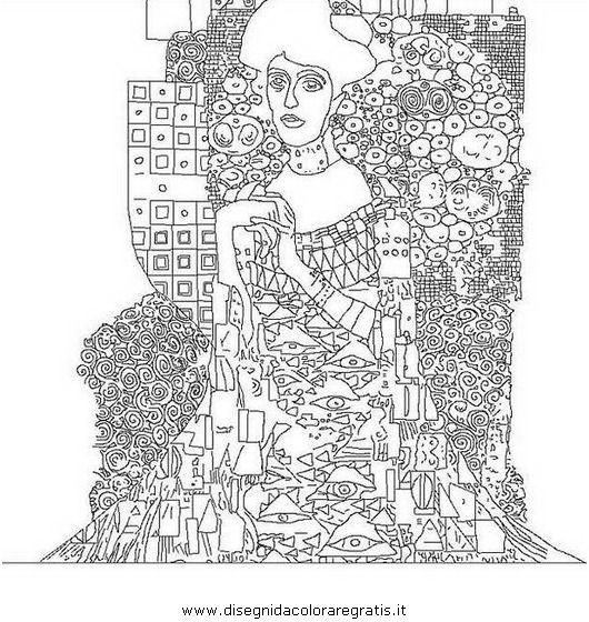 misti/quadro quadri_famosi/gustav-klimt.JPG | drawing | Pinterest ...