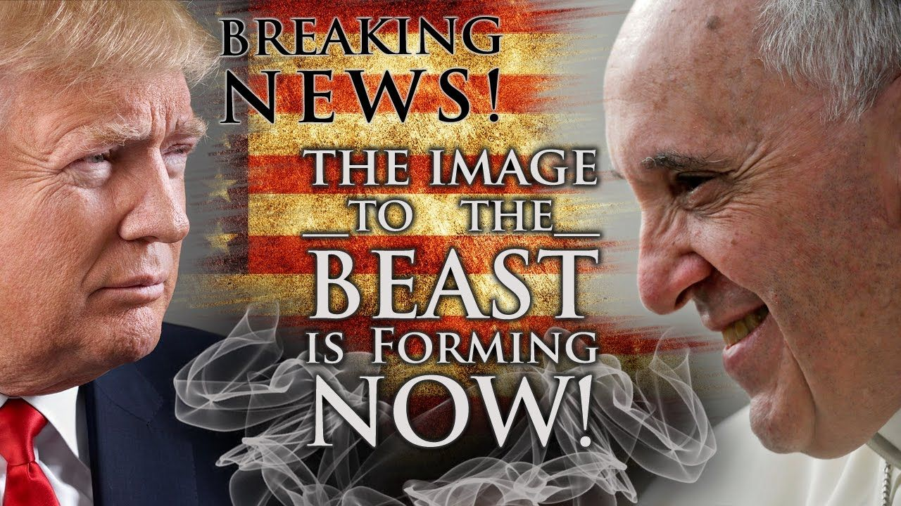 Breaking News! The Image to the Beast is forming NOW