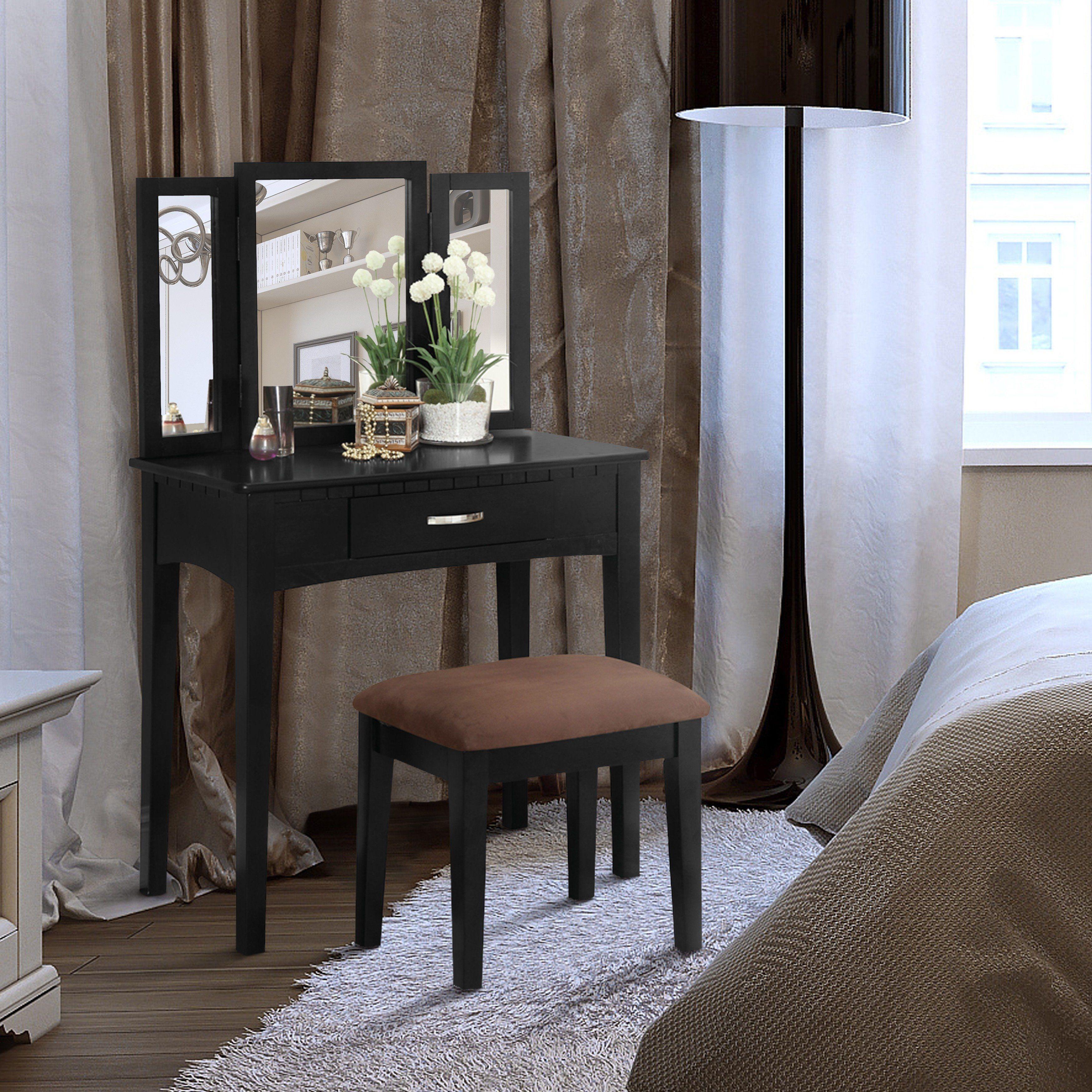 Furniture of america jade espressofinished solid wood piece