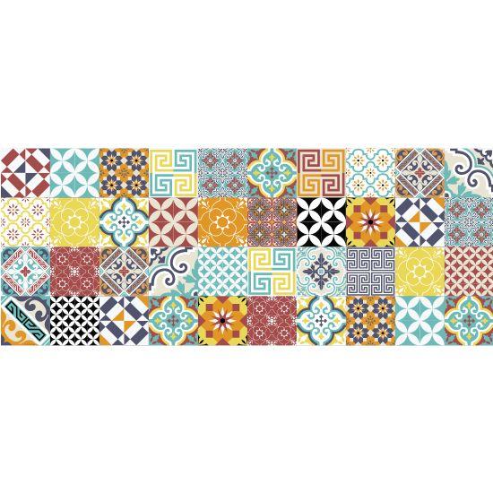 Enrich your counter with tile designs by applying Beija Floru0027s long - dessin de maison facile