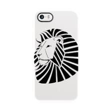 Chrome Lion iPhone 5/5S Deflector by TheInkBoxes