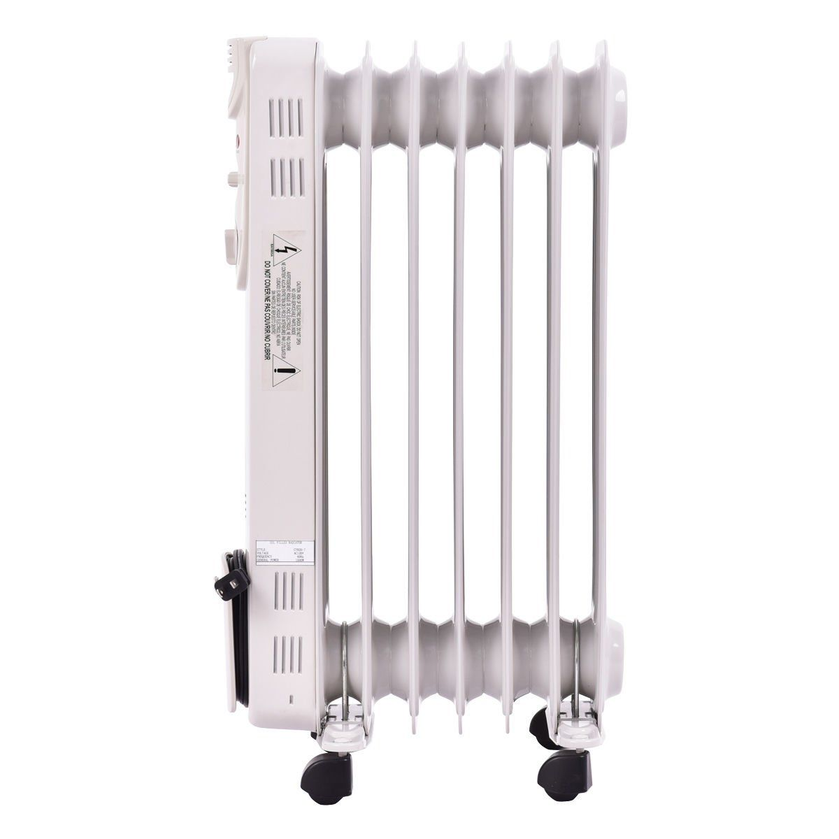 Overflow Supplies 1500W Electric Oil Filled Radiator Space