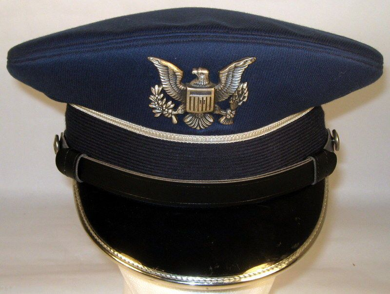USAF USAFA US Air Force Academy Cadet Service Dress Blues Hat Cap Size 6 3 8 997d699b0001