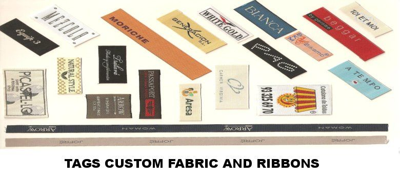 LABELS AND CUSTOM FABRIC TAPES www.publipackcalafell.com