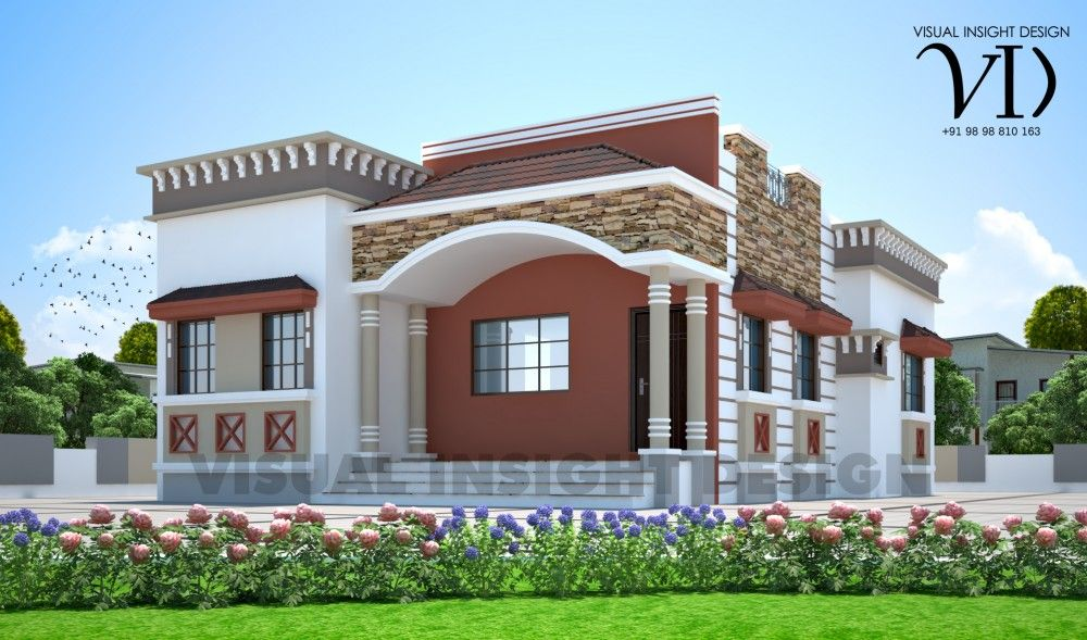1044 sq ft 2 Bedroom Attractive Home Design is the new affordable ...