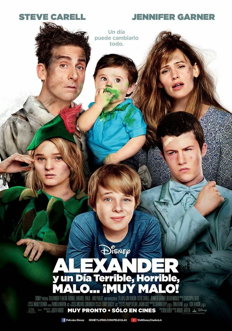 Alexander Y Un Dia Terrible Horrible Malo Muy Malo Family