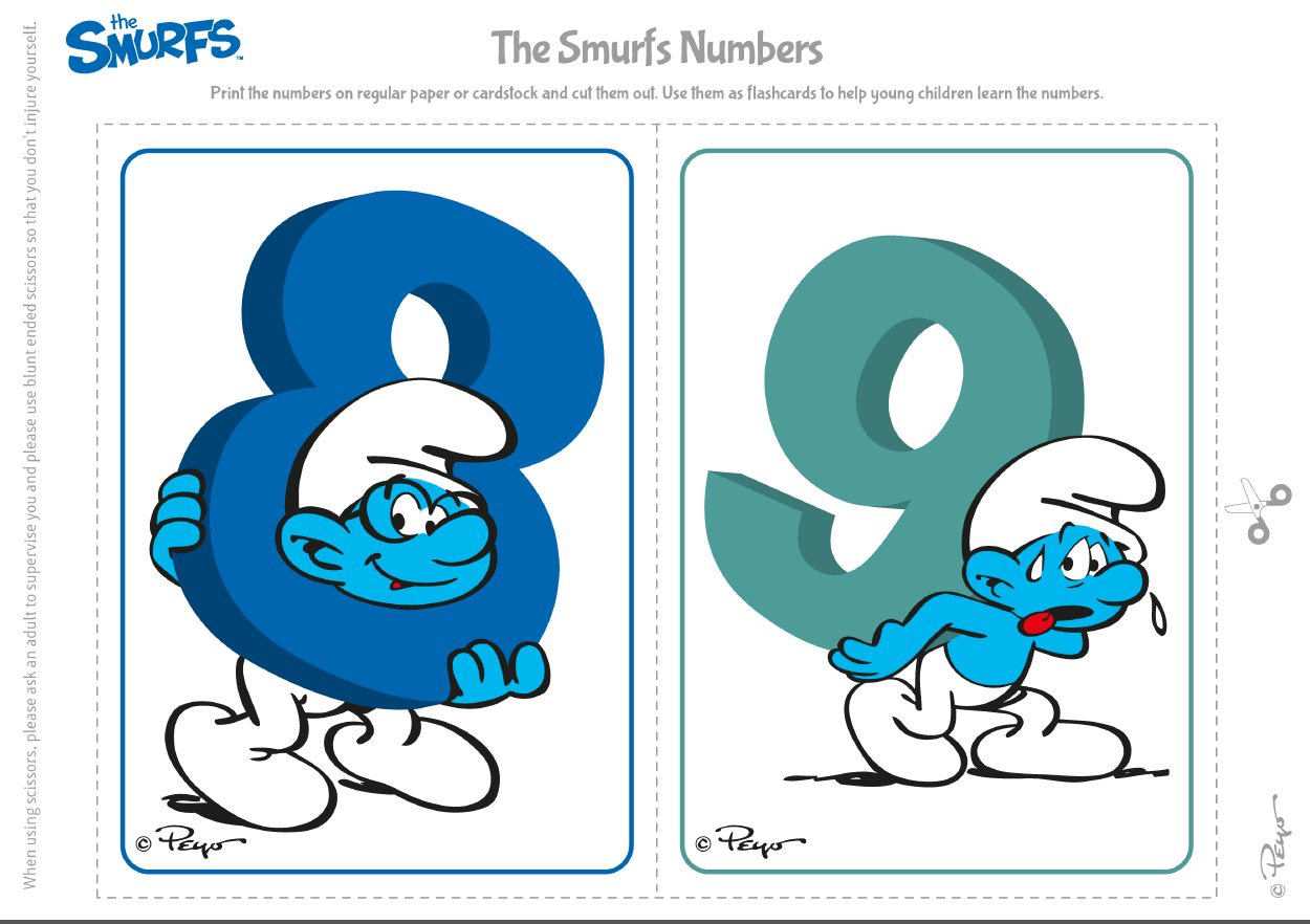 Pin By Crafty Annabelle On Smurfs Printables